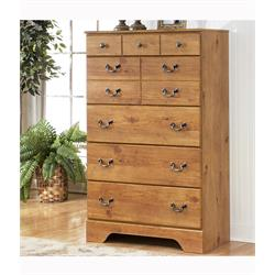 ASHLEY 5 DRAWER CHEST (BITTERSWEET) B219-46 Image