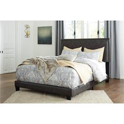 ASHLEY QUEEN SIZE UPHOLSTERED BED (DOLANTE) B130-081 Image