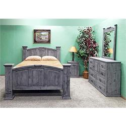 MILLION DOLLAR RUSTIC 5PC KING SIZE BEDROOM SET  02-2-123A-02 Image