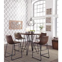 ASHLEY 5PC COUNTER HEIGHT DINETTE (CENTIAR) D372-124,13 Image