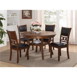 NEW CLASSIC 5PC DINING ROOM SET (GIA) D1701-50S-BRN Image
