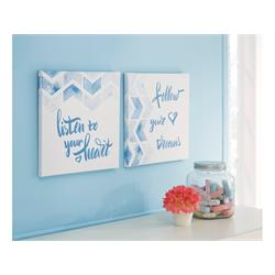 ASHLEY ACCENT WALL ART SET (ELLIS) A8000240 Image