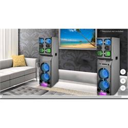 TECHNICAL PRO 4000 WATT HOME THEATER SPEAKERS XTWINS Image