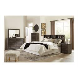 ASHLEY 5PC QUEEN SIZE BEDROOM SET (VAY BAY) B7011-31,36,54,65,92,96 Image