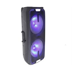 GEMINI PORTABLE BLUETOOTH SPEAKER w/ LIGHTS GSX-L2515BTB Image